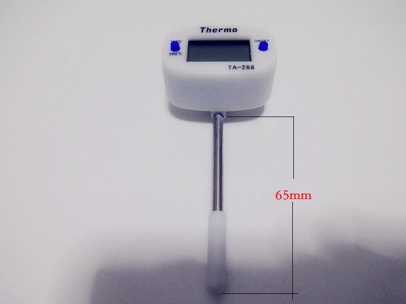 Short Type  Pen Style Kitchen Digital Thermometer,  LCD Display Digital Probe Thermometer