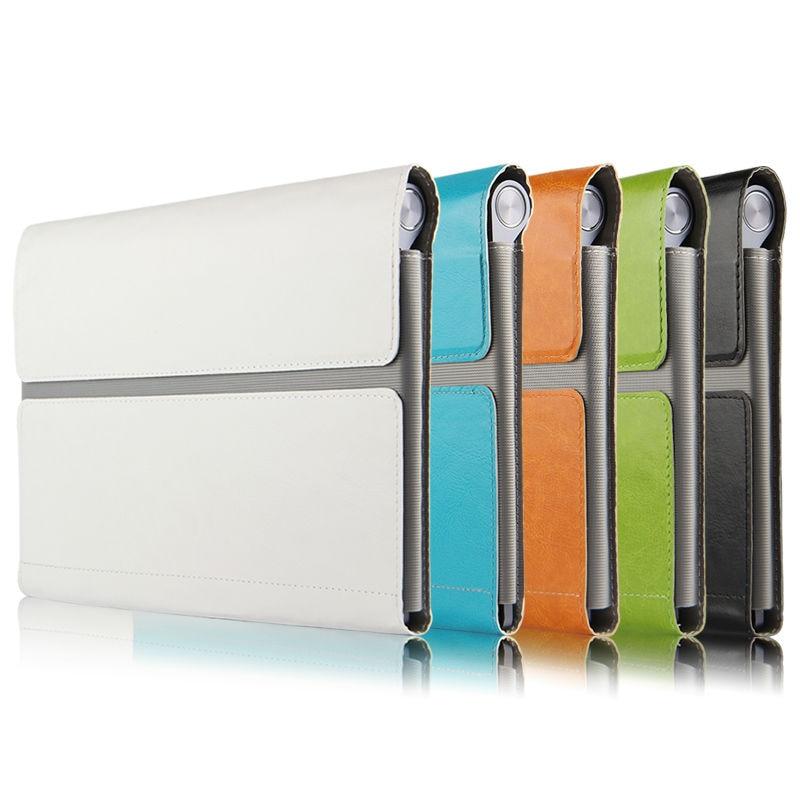 Lenovo Yoga B6000 Için Koruyucu Akıllı kapak Deri Tablet Için - Tablet Aksesuarları - Fotoğraf 2