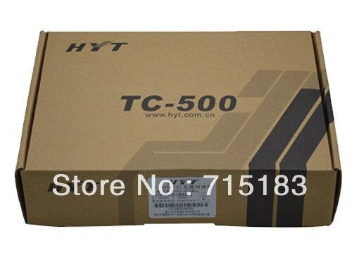 Haute qualité HYT talkie-walkie CB radio Hytera TC-500 4 watts 16 CH UHF Portable Radio bidirectionnelle couleur noire émetteur-récepteur livraison gratuite