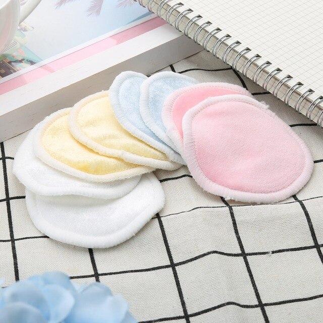 1 PC Reutilizáveis Almofadas de Algodão Removedor de maquiagem Facial de Dupla camada Limpar Pads Nail Art Limpeza Pads Lavável com Lavanderia saco