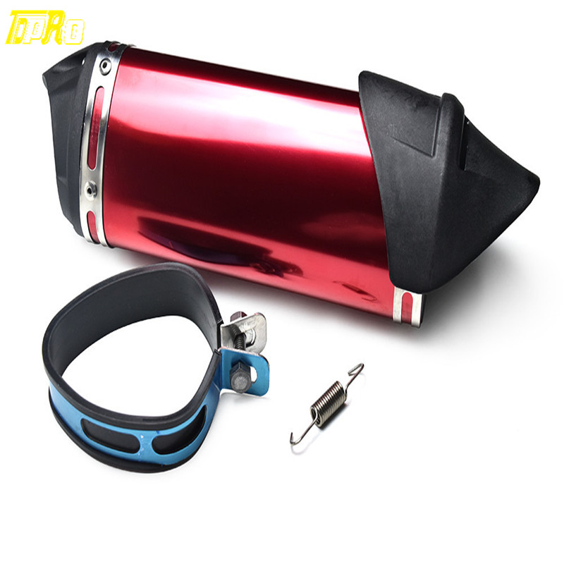 38mm Exhaust Muffler for 49CC 50CC 125CC GY6 Scooter Dirt Bike ATV Thumpstar modified akrapovic exhaust escape moto silencer 100cc 125cc 150cc gy6 scooter motorcycle cbr jog rsz dirt pit bike accessories