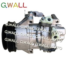Car Auto A/C AC Compressor For Toyota Yaris Pump With Clutch Repair Assembly