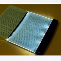 Creative Fashion LED Nightlight Booklight Desk Lamp Book Reading Light Shipping Without Batteries