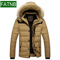 Down Jacket Men Parka Winter New 2016 Warm Windbreak Cold-proof  Thick for under -30 degrees Celsius Slim Fit Men's Coats