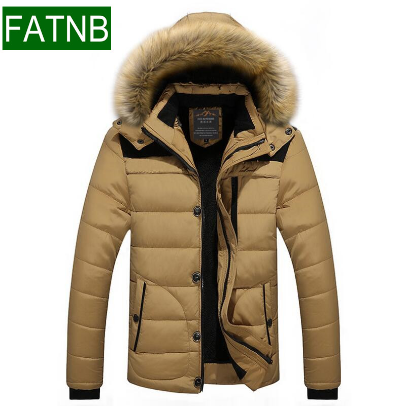 Down Jacket Men Parka Winter New 2017 Warm Windbreak Cold-proof Thick for under -30 degrees Celsius Slim Fit Mens Coats