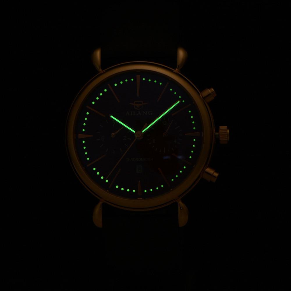 Relogio Masculino AILANG többfunkciós órák Neutrális Montre - Férfi órák - Fénykép 5