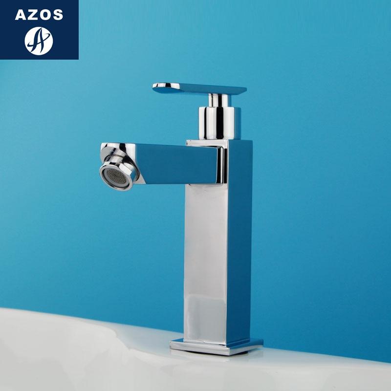 Sink Chrome Single Cold Bathroom Faucet Handles Basin Water Tap Wash Faucet Lanos Torneira Bathroom Banheiro