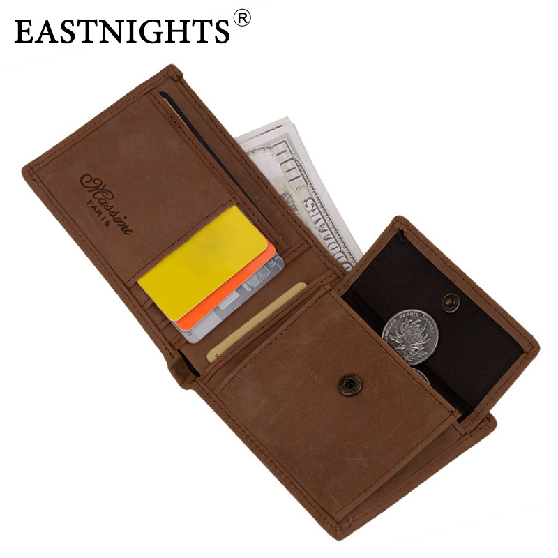 Real Leather Wallet Men Organizer Wallets Brand Vintage Genuine Leather Cowhide Short Men's Wallet Purse With Coin Pocket TW075 2017 new wallet small coin purse short men wallets genuine leather men purse wallet brand purse vintage men leather wallet