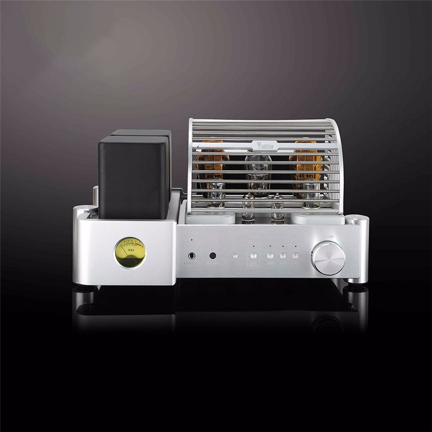 цены YAQIN MS-500B Integrated Amplifier Class A Single-ended Vacuum Tube HiFi Integrated Amp 300Bx2 6N8Px2 12AU7x2 5Z3Px1 110-240V