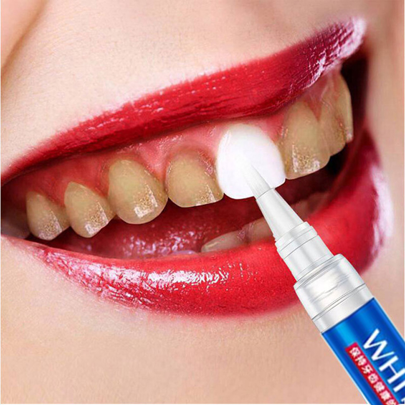 Teeth Whitening Gel Pen Deep Cleansing Professional Teeth Stains Yellow Tooth Remove Brightening Oral Hygiene Dental Clean Tool