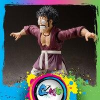 CMT In Stock Bandai Tamashii Nations Dragon Ball Z DBZ S.H.Figuarts SHF Mr.Satan Action Figure Anime PVC Toys Figure