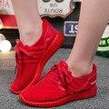 Barrido Mundo Beckham Misma Ventilación Antideslizante Zapatos Tenis Femenino Loubuten De Coco Rojo y Negro Zapatos de Las Mujeres Ocasionales Zapatos de Las Mujeres