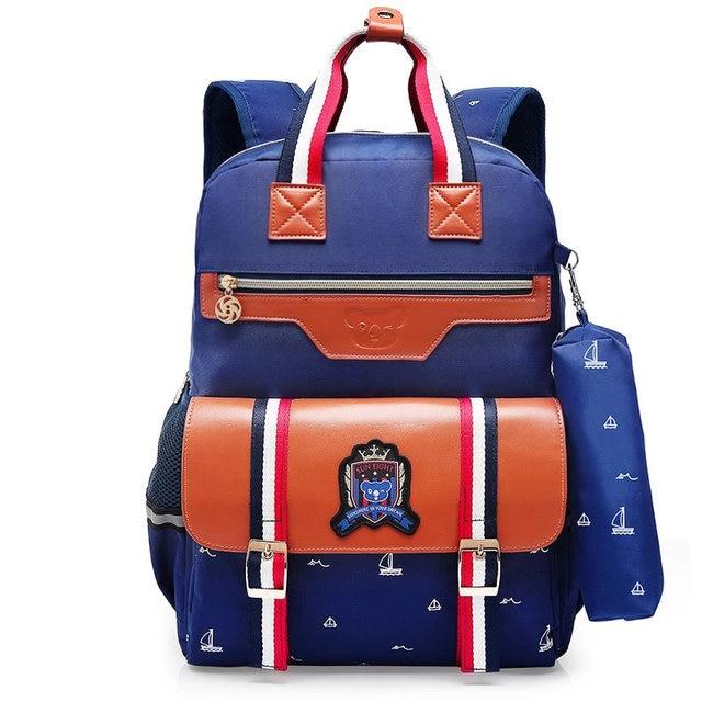 Online Shop Orthopedics Fashion School Backpack School bags For ...