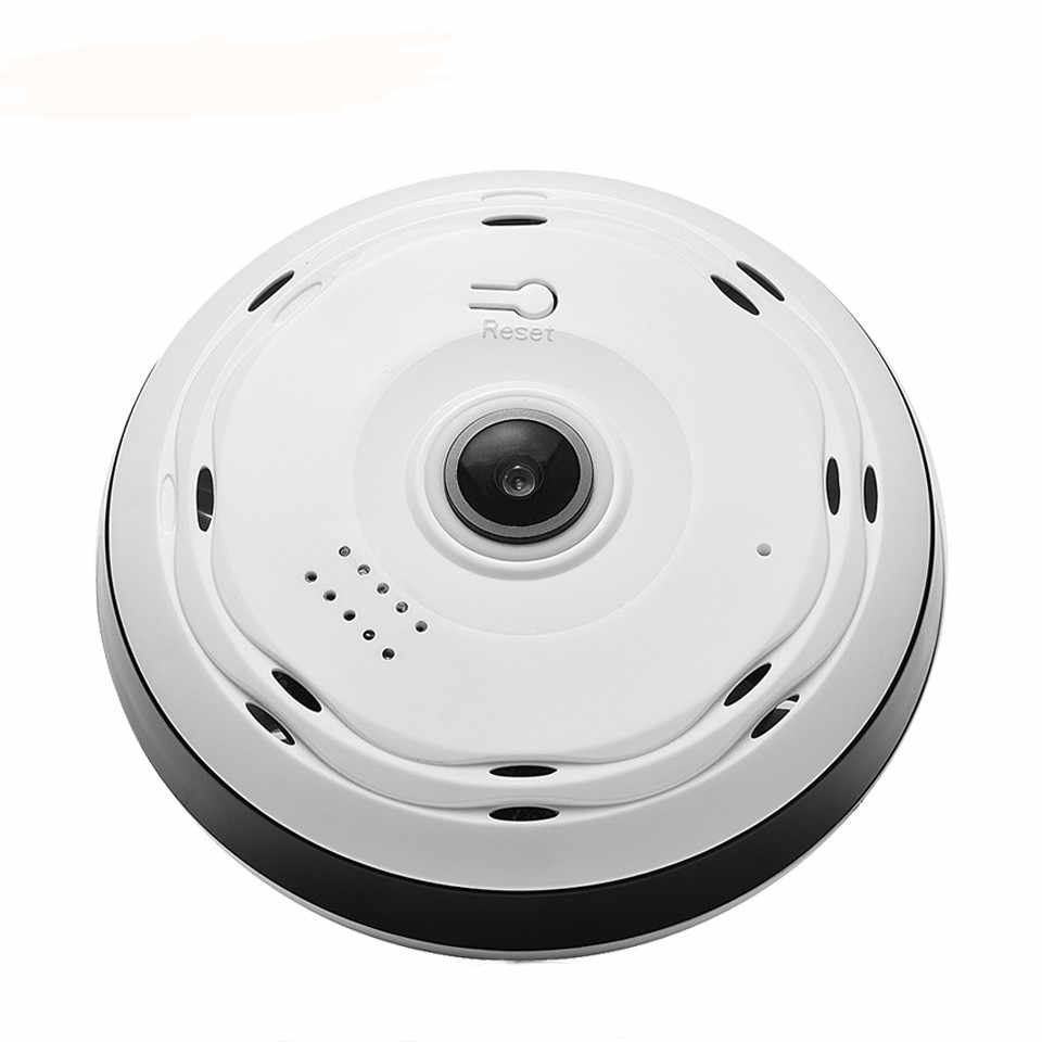HD 1080P 360 Degree Fisheye Panoramic Camera Wireless 3D VR Panorama HD IP Camera P2P Indoor Cam Security WiFi Camera
