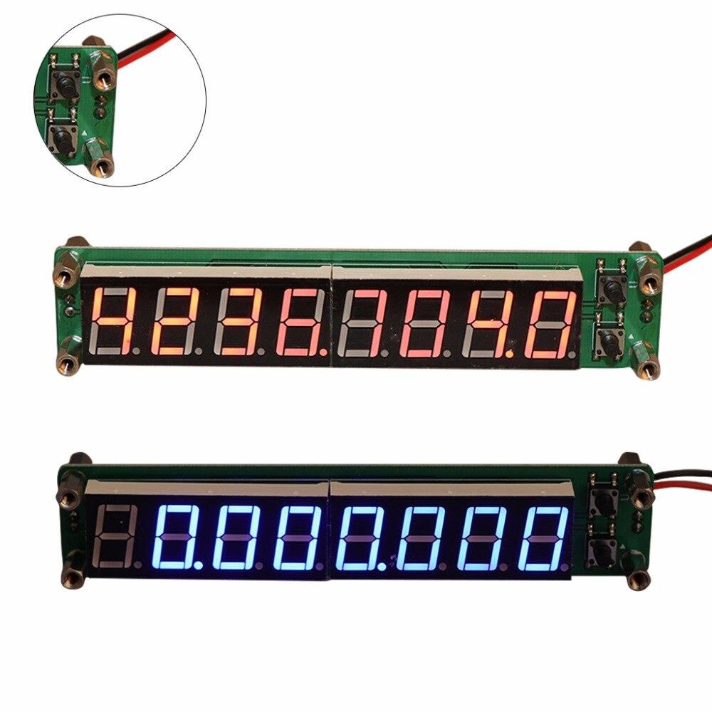 0.1-60 mhz 20 mhz-2.4 ghz rf 8 dígitos led singal freqüência contador medidores cymometer tester ferramenta