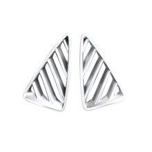 Подходит для Mazda CX-3 CX3 2015 2016 2017 2018 ABS Матовый Интимные аксессуары подкладке спереди верхний автомобилей Air Vent Выход Обложка отделка 2 шт.