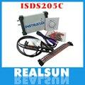 ISDS205C версия Обновления MDSO-LA ПК USB Аналоговый Виртуальный осциллограф 16 Канала Логический Анализатор Пропускная Способность 20 М Цепи анализ FS