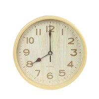 2017 Hot Sale Large Wall Clock Modern Design Imitation Wooden Hanging Vintage Silent Wall Clock Decor