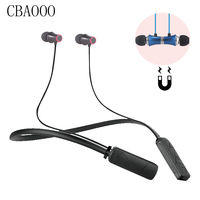 CBAOOO HWS 610 Bass Bluetooth Earphone Sports Wireless Headphones With Mic Magnetic Stereo Bluetooth Headset For