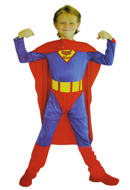Childrenu0027s siamesed superman costume for Kids Children Boy Superhero Suits Clothes Party Gifts Jumpsuit  sc 1 st  AliExpress.com & Childrenu0027s siamesed superman costume for Kids Children Boy Superhero ...
