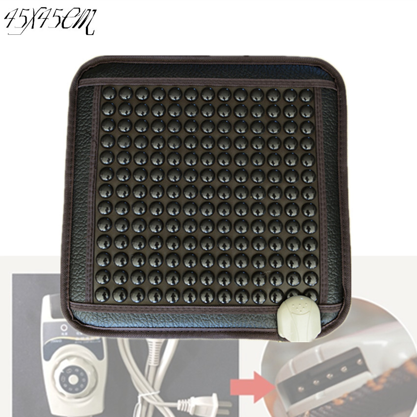Hot New Products for 2017 Electric Heating Natural korea Tourmaline elderly seat cushion for good sleeping heating 45*45CM шина пильная husqvarna 18 3 8 1 5мм sn 5859508 68