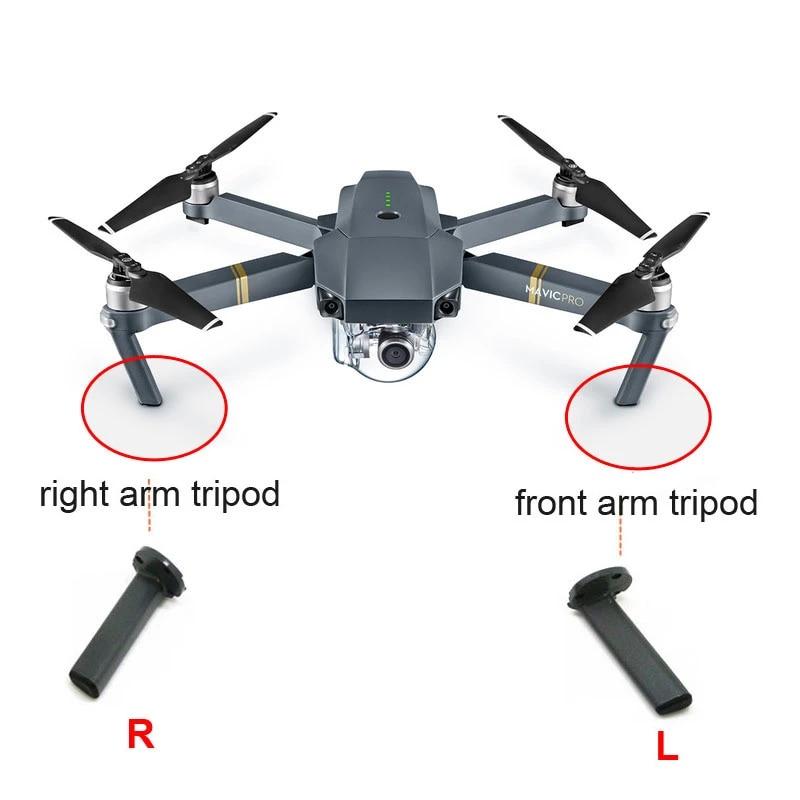 Dji Mavic Pro Left Right Front Arm Tripod Professional Drone Quadrocopter With 4k Camera Spare Repair Parts Accessiories Drone Accessories Kits Aliexpress