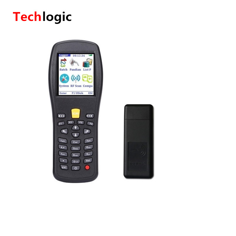Techlogic X3 PDA Wireless Barcode Scanner Warehouse Inventory Scanner Laser Barcode Gun with Storeage Handheld Terminal PDA techlogic x3 wireless barcode scanner inventory bar code scanner handheld terminal pda laser barcode reader bar code gun