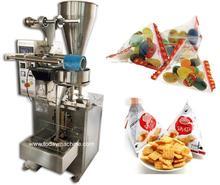 automatic transparent film tomato sachet packaging machine / sugar paste packing machine