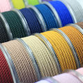 DIY 3mm Silk thread milan cord Jewelry & packing & shoes rope Necklaces & Bracelets cords 30colors No.16-30color 4meters/roll