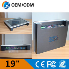 All in one pc Resistive touch 19 inchscreen Resolution 1280×1024 industry desktop computer with inter D525 1.8GHz