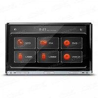 Xtrons 7 2 DIN dvd плеер с GPS навигации Универсальный стерео CD Радио плеер 7 Сенсорный экран 1080 P 3G видеорегистратор головное устройство