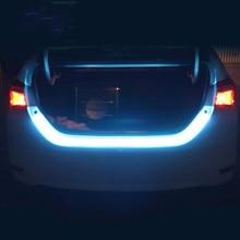 СВЕТОДИОДНЫЙ многоцветный Дневной светильник в полоску на крыше с отрицательными поворотниками, задний светильник s, автомобильный светильник, светодиодный светильник для автомобиля