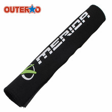 OUTERDO 1 Pcs 21x10cm Bicycle Diving Fabric Chain Stick Frame MTB Road Mountain Bike Chain Protect Cloth Cycling Chain Protector