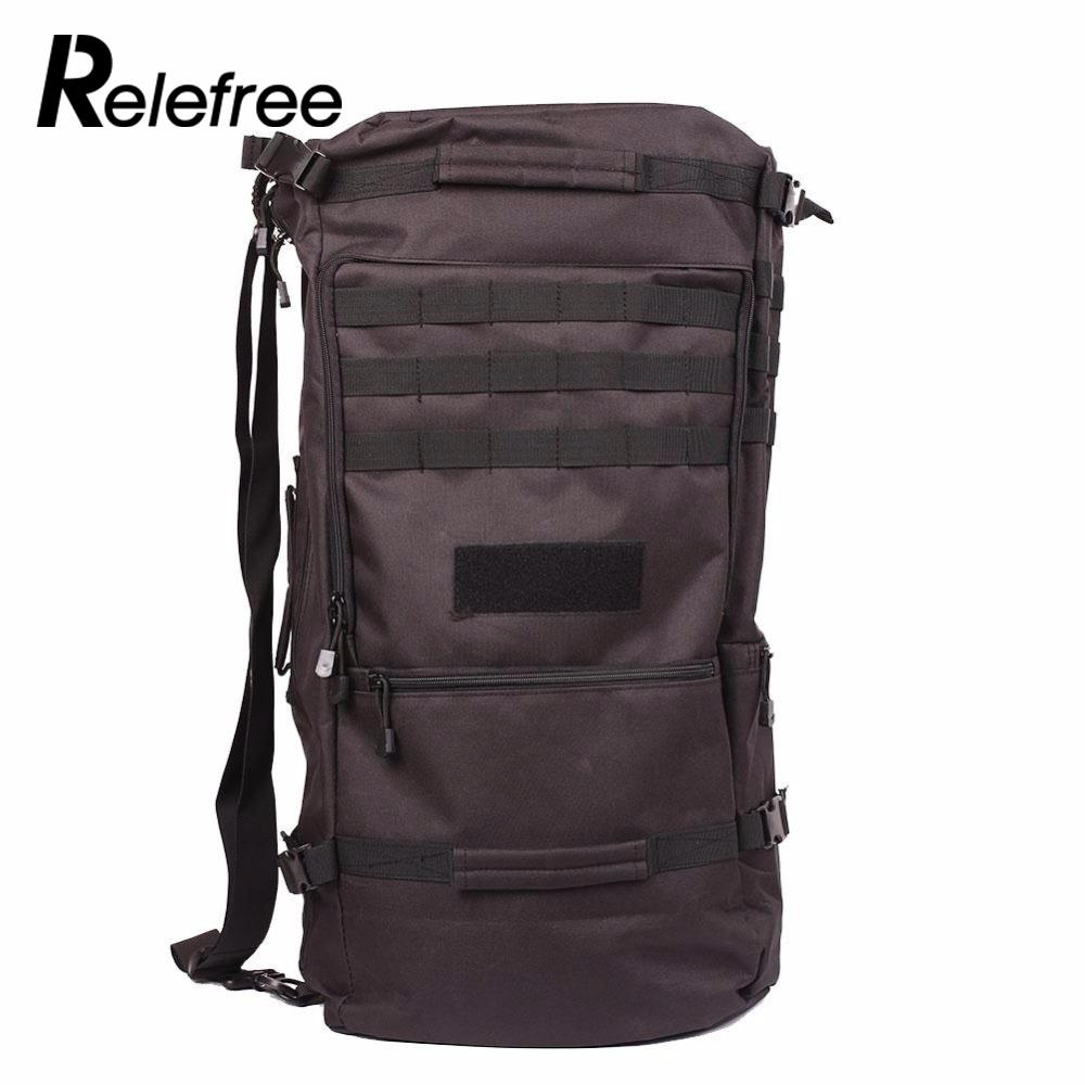 50L Multifunctional Military Tactical Backpack Outdoor Army Camping Hiking Rucksack Daypack Shoulder Bag 65l outdoor sports multifunctional heavy duty backpack military hiking