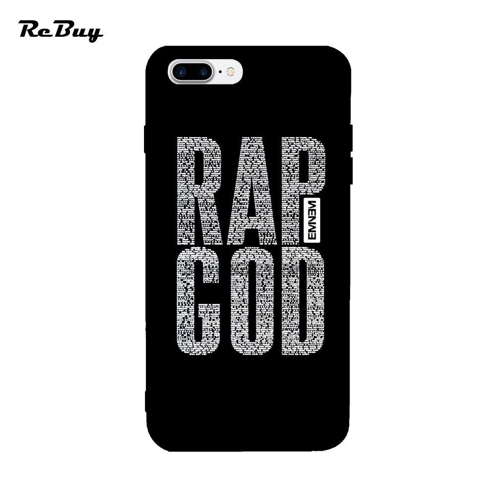 Eminem Rap God The Rapper Rock Roll For Iphone Case 6 6s 7 ...