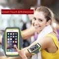 Sports correndo caso para o iphone 6 6 S Plus 5S 4S para Samsung Galaxy S6 S7 borda S5 equitação ciclismo Arm Band acessórios de cobertura de telefonia