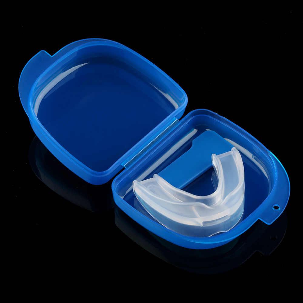ปากยามฟัน Anti Snoring Bruxism with Case Sleep Aid กำจัดนอนกรนการดูแลสุขภาพ Anti Snore Mouthpiece