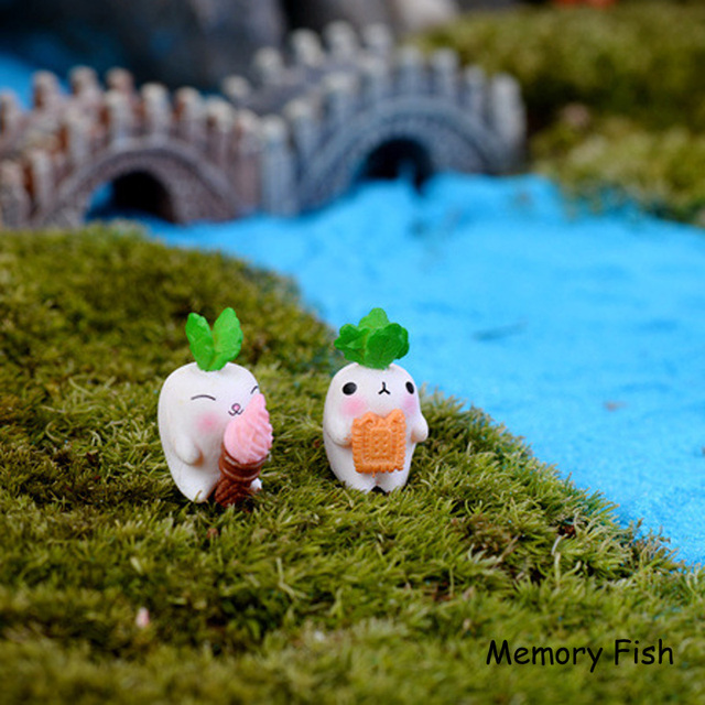 Garden Decoration Funny Cute Radish dolls model ornaments toys