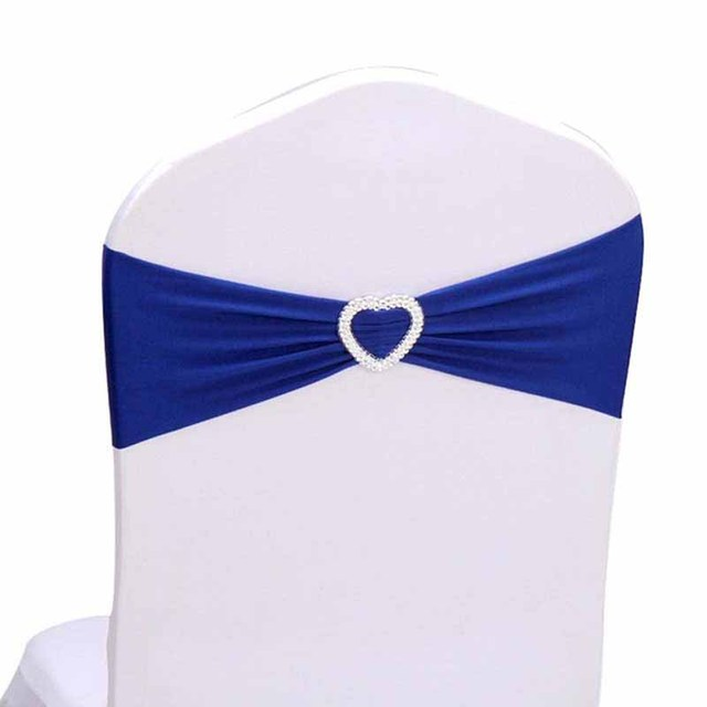 10pcs wedding baby bridal shower birthday banquet meeting decoration chair bow sashes chair cover removable elastic