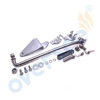 689 48501 Remote Control Attachment Kit Replaces For Yamaha Parsun 25HP 30HP 2 Stroke Outboard Motor 61N 69P 69S