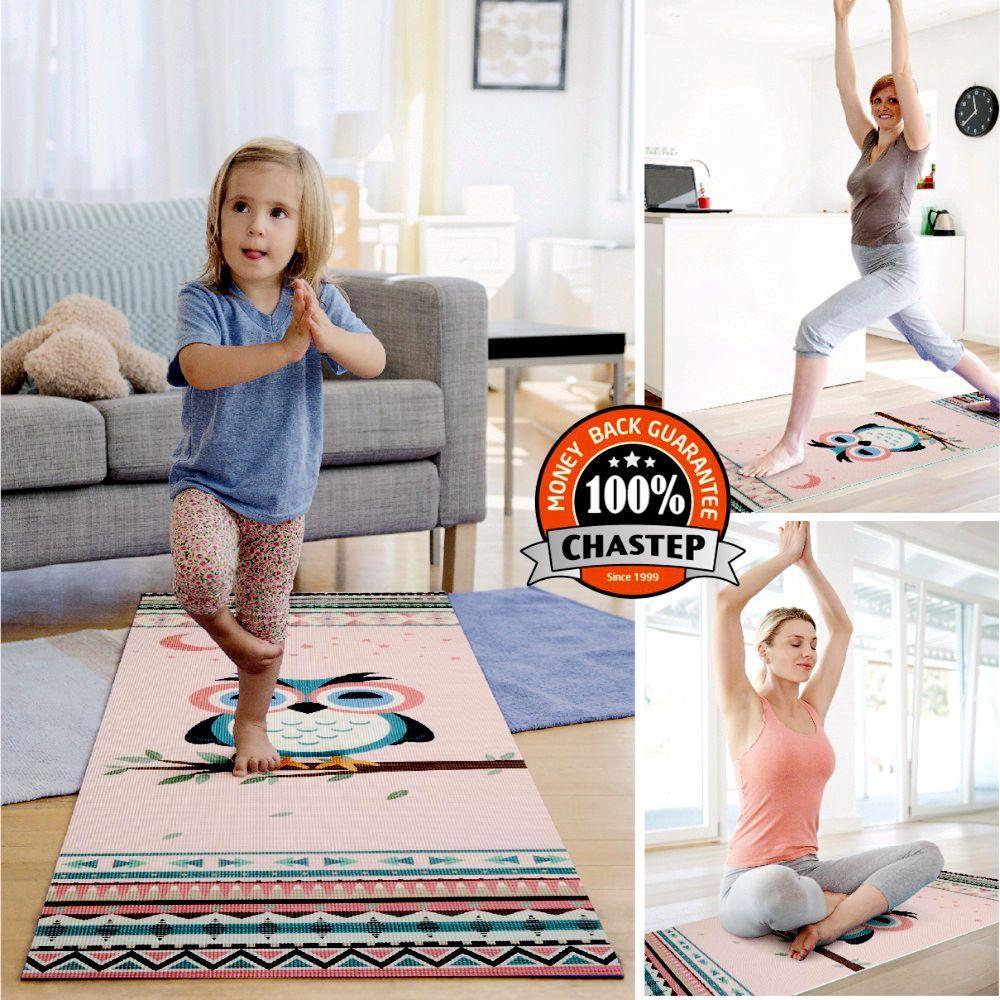 Chastep, das natürliche PVC-Yoga-Matte faltet Umweltfreundliche - Fitness und Bodybuilding - Foto 2