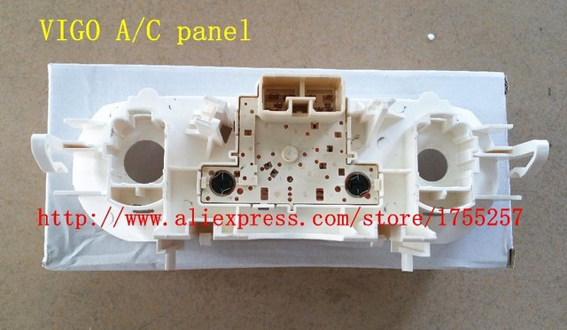 Free Shipping,automobile air conditioner A/C panel, vigo hilux air conditioning control panel,AC Controller