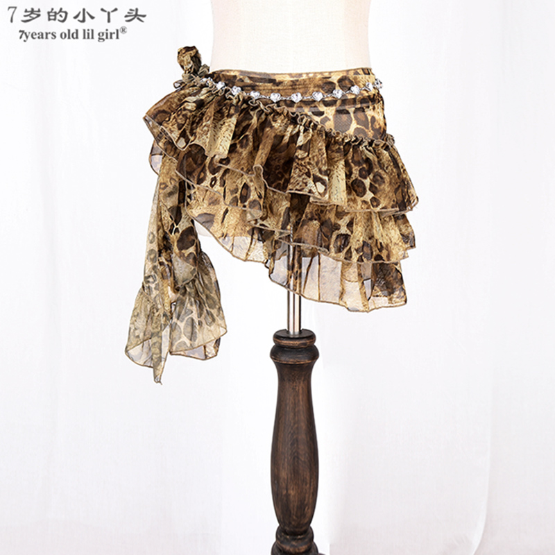 Belly Dance Belt Hip Scarf Mesh Gothic Tribal Belly Dance Over ScarfBLL06-10