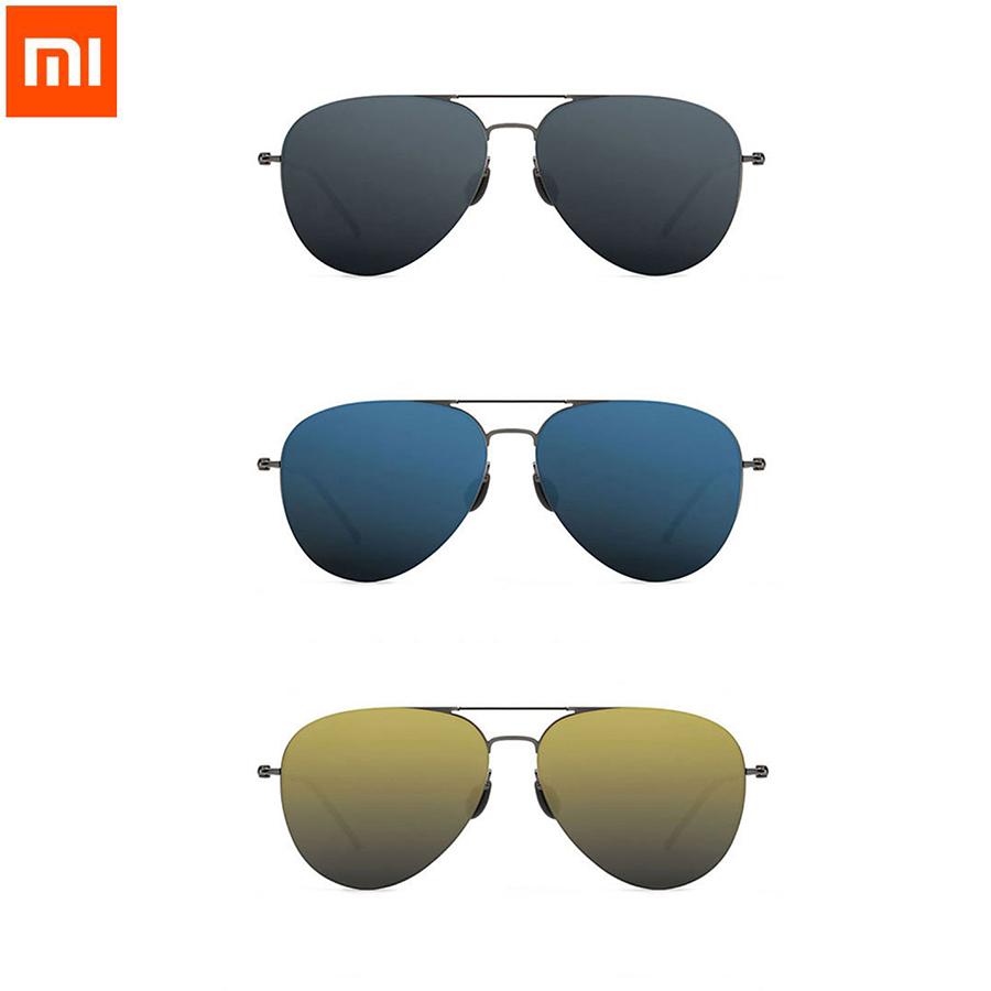 Prix pour 2017 Nouveau Xiaomi Turok Steinhardt TS Marque Nylon Polarisées Inoxydable UV-Preuve Soleil Lentilles Avec Cachée Boarder Design