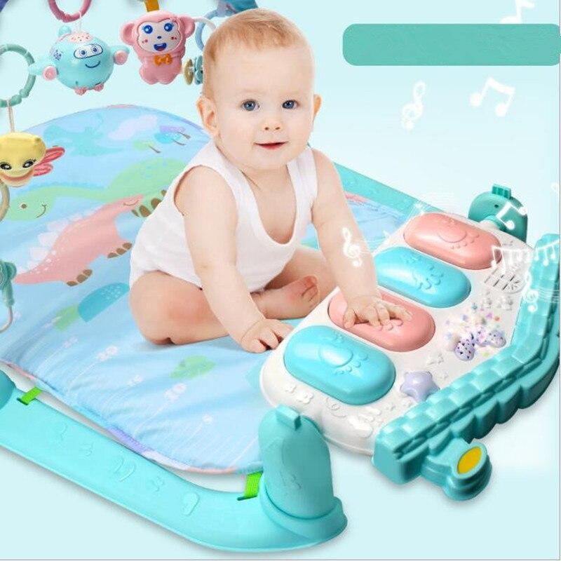Детские манежи многофункциональный ребенка ползать игрушка коврик новорожденных tapete infantil Детские Тренажерный зал alfombra infantil tapis enfant Детски...