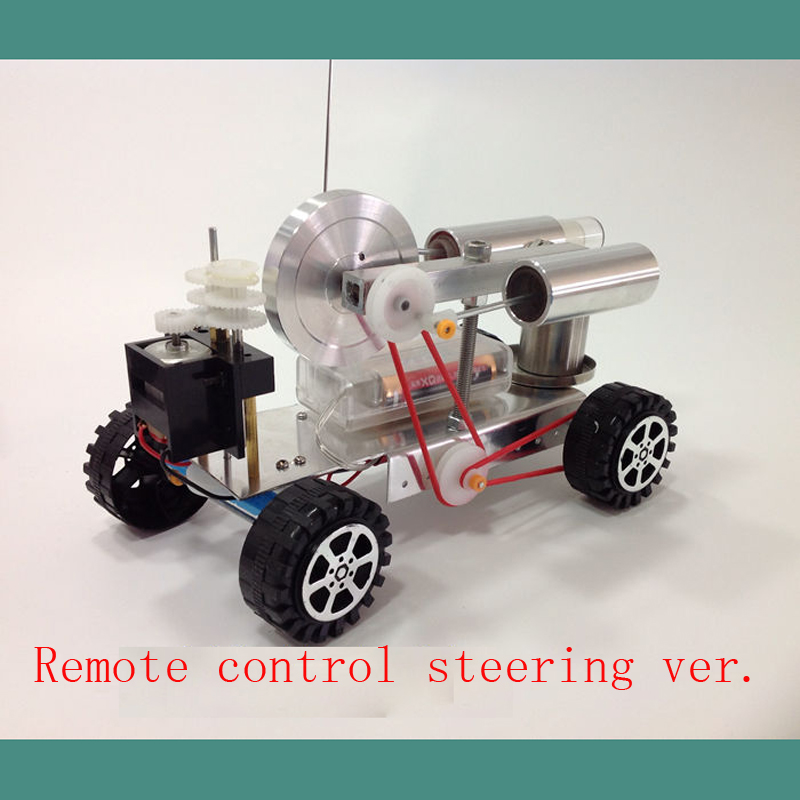 Cool Miniature Steam Engine Remote Control Steering Versions And