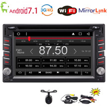 """Eincar 6,2 """"Android 7,1 двойной 2 Din стерео 4-Core dvd-плеер gps навигации головного устройства Bluetooth AM/FM радиоприемник SWC"""