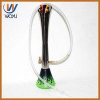 Torch shaped water bottle Hookah accessories hookah ceramic bowl tobacco pipe grinder weed