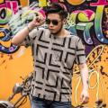 good quality t shirt men PLAID size 2XL-7XL tshirt homme plus size 7XL men's t-shirt summer T-shirt 2XL 3xl 4xl 5XL 6XL
