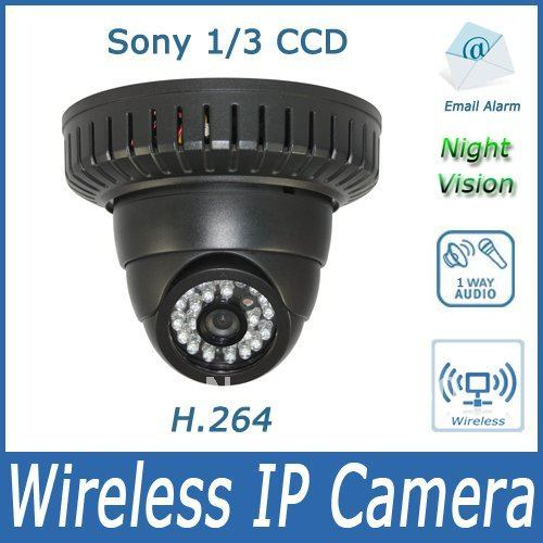 Free shipping! H.264  Sony 1/3 CCD IP Network Wireless Camera- PTZ camera with night vision
